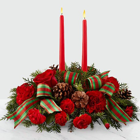 The FTD® Holiday Classics™ Centerpiece by Better Homes & Gardens®