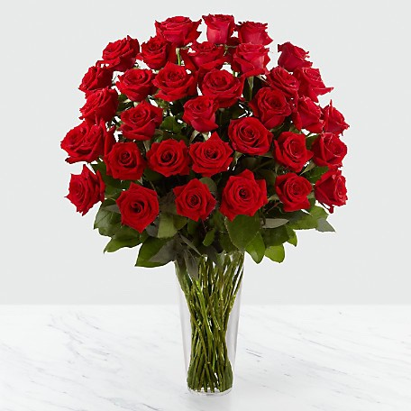 HomeOccasionsJust BecauseThe FTD Red Rose Bouquet