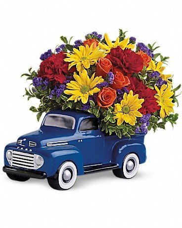 Telefora's™ '48 Ford Pickup Bouquet